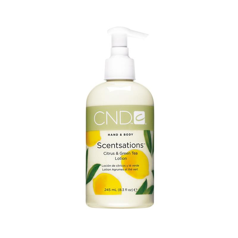 cnd hand & bodylotion 245 ml citrus & green tea