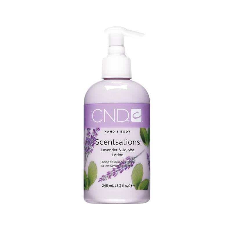 cnd hand & bodylotion 245 ml lavender & jojoba