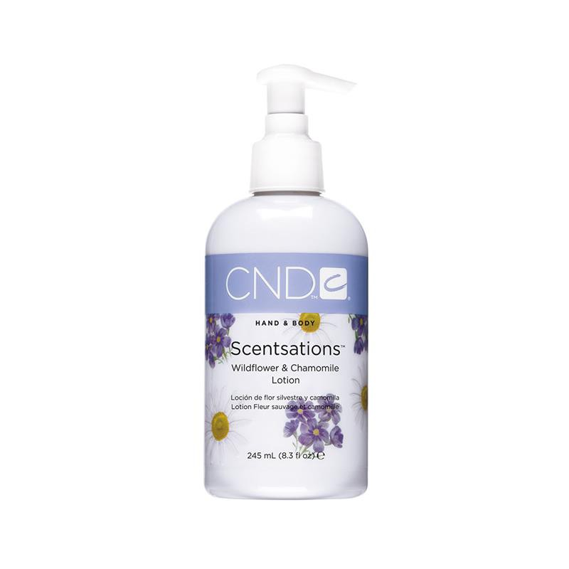 cnd hand & bodylotion 245 ml wildflower & chamomile