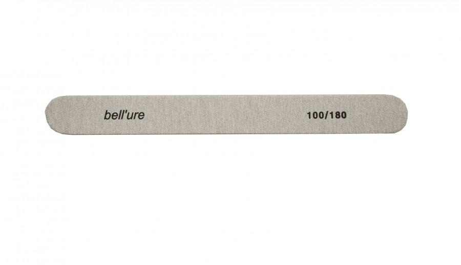 bellure vijl 100/180 recht grijs
