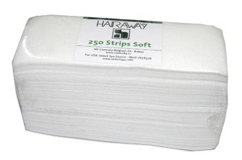 hairaway ontharingstrips soft gewafeld 250 stuks