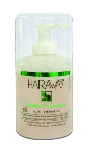 hairaway before treatment met pomp 250 ml